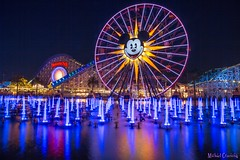 30 seconds of color.... (Ring of Fire Hot Sauce 1) Tags: reflection mickeymouse fountains disneycaliforniaadventure longexposurewater worldofcolor