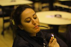 IMG_4853 (cloud.mcread) Tags: boy white black cute girl sunglasses smoke pi hani portre cafepi gzlkler ekiliz
