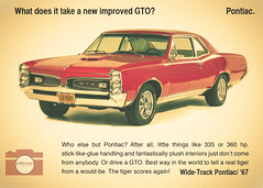 1967 GTO pontiac (Hernandez Jamie) Tags: red color vintage photography graphicdesign pontiac gto musclecar petiterougeproductions
