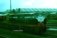 R.P.S.I. B141 at Inchicore. (Fred Dean Jnr) Tags: dublin locomotive irishrail generalmotors inchicore emd iarnrodeireann electromotivedivision rpsi august2010 141class railwaypreservationsocietyofireland b141
