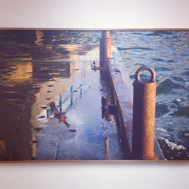 """Reflejos"" de Gabriela Avendaño $150 • Bazarte #bazarte #arteenlima #artinlima #arte #art #artist #artista #pintura #painting"