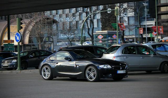 m bmw z4 2008 coupé e86 fwl