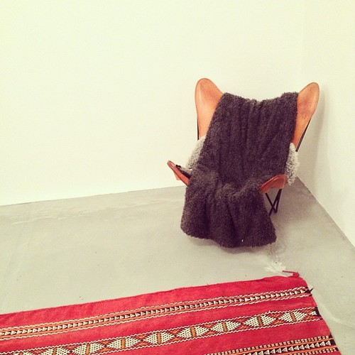 #mariposa chair still a bit lonely in the corner...