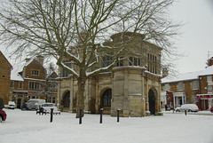 The Market House. (Rothwell-Northants) Tags: snow northamptonshire rothwell markethouse