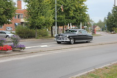 Hudson Hornet 1953 (Drontfarmaren) Tags: pictures summer classic car 30 vintage gallery power sweden cruising american end hudson hornet coverage aug meet bilder 1953 emmaboda galleri 2013 drontfarmaren