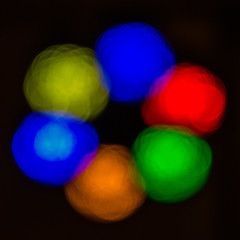 Lights (Charliebubbles) Tags: blue red abstract green yellow canon eos lights amber explore 60d canoneos60d