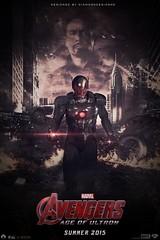 Avengers: Age of Ultron (FAN MADE) Poster (DiamondDesignHD) Tags: nyc man movie poster fan iron disney tony made age marvel stark avengers ultron diamonddesignhd