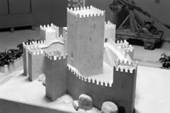 Exposição do Mundo Português, Lisboa, 1940 (Biblioteca de Arte-Fundação Calouste Gulbenkian) Tags: portugal lisboa 1940 castelo guimarães exposição maquetes exposiçãodomundoportuguês casimirovinagre