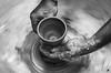 Pottery (Rajib Kumar Bhattacharya) Tags: blackandwhite flickr estrellas pottery blackandwhitephotography potterywheel platinumheartaward flickrestrellas ringexcellence blinkagain dblringexcellence flickrbronzetrophygroup tplringexcellence eltringexcellence