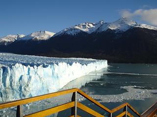 Perito Moreno zig zag