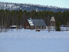 698 lloluokta Kyrka (What about The Arctic) Tags: 2014 kerk church kyrka kirke kirkko lappland norrbotten sverige