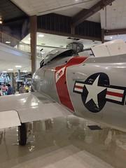 FJ-4 Fury at the National Naval Air Museum (SamCom) Tags: jet fury nnam fj4