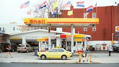 Bushwick Avenue (Tom Starkweather) Tags: new york city station brooklyn gas williamsburg