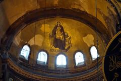 Apse mosaic, Hagia Sophia