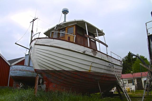 Den røde båd