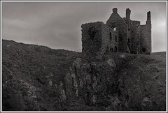 Dunskey Castle (6) (ShinyPhotoScotland) Tags: light people blackandwhite building castle art abandoned nature wall composite composition manipulated lens landscape photography scotland warm gloomy emotion unitedkingdom decay space empty ruin dreary places calm equipment negativespace filter zen stonewall balance isolation geology melancholy toned lowkey platinum contrasts dull portpatrick hdr imposing lump rundown elegance lowcontrast oldnew dumfriesandgalloway transience gbr dunskey circularpolariser rockstone digikam richpoor skyearth shapeandform dulllight rawconversion enfuse rawtherapee wacke sony1855 darktable digitalorange mankindnature digitalgradnd digitallowpass digitaldodgeburn timefulness