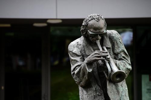 Statue of Miles Davis - Kielce