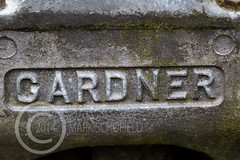 A Close Up Look 045 (Mark Schofield @ JB Schofield) Tags: emblem logo engine badge scrapyard gardner atkinson 6lxb jbschofieldandsons