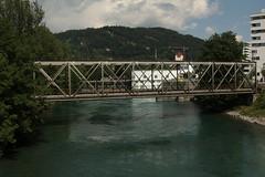 Eisenbahnbrcke Schwbis ( Eisen - Fachwerk - Bahnbrcke - Brcke - Bridge - Pont - Aarebrcke => Lnge 54m => Linienerffnung 1899 ) der Bahnlinie Thun - K.onolfingen ber die Aare ( Fluss - River ) bei Thun Schwbis im Berner Oberland im Kanton Bern in (chrchr_75) Tags: city nature water juni ro river landscape schweiz switzerland eau wasser suisse suiza swiss fiume natur ciudad rivire stadt sua thun bern christoph svizzera fluss landschaft berner ville aar stad aare sveits donnerstag citt sviss berneroberland oberland 2014 zwitserland sveitsi  suissa reka joki 1406 kaupunki kanton chrigu szwajcaria  kantonbern brn thoune arole chrchr hurni chrchr75 chriguhurni  stadtthun albumstadtthun albumaare chriguhurnibluemailch juni2014 gummiboottour hurni140619 albumaarethunbern albumaarethunschwbisuttigerschwelle