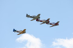 Mid-Atlantic Air Museum World War II Weekend - Air Show (Itinerant Wanderer) Tags: reading pennsylvania airshow worldwarii reenactors berkscounty midatlanticairmuseum