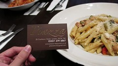 Piazza - Fantastic Restaurant in London, England (ENJOYEXPLORELIFE) Tags: uk travel london dinner europe pasta study noodles epic unt studyabroad foodie northtexas