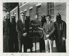 Order of St. Patrick Tapping, November 1964 (Duke University Archives) Tags: durham engineering northcarolina clover secretsociety honorary tapping studentorganization orderofstpatrick