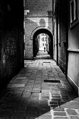 I am lost without you ... (Venice experience) (alessandrafinocchiaro67) Tags: monochrome manual mood blackandwhiteperfection blackwhite nikond750 venice venezia venecia venedig pavement