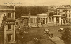 1905 London (Steenvoorde Leen - 2.3 ml views) Tags: londen london 1905 ansichtkaart postkaart postcards postkarte karte card hydeparkcorner great britain gb england
