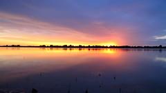 IMG_5966 (Light from Light) Tags: sunrise water orange sky clouds canong12 colorado boydlake
