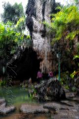 DSCF7166 (kingston Tam) Tags: waterfall river rapids sedimentaryrock stone ancientcity guizhou wetlandpark park canyon landscape naturallandscape mountain scenery streetscape oldfashioned streetphotography castle hawkers peddler fujifilmxt1
