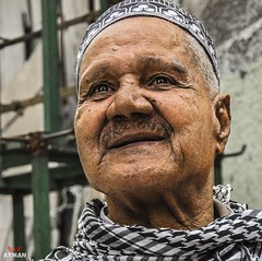 Genuine Egyptian l   (Ayman Abu Elhussin) Tags:   seller sell 2016 aymanabuelhussin      street streetshot  streetlife nikon7100  arab  egypt portsaid portsaidegypt    people            man old sharkyast
