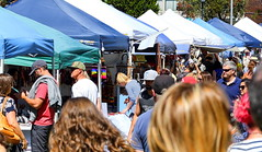 Market day (1) (geemuses) Tags: monavale monavalemarkets northernbeaches sydney sydneyharbour retail selling marketday tents flowers shopping