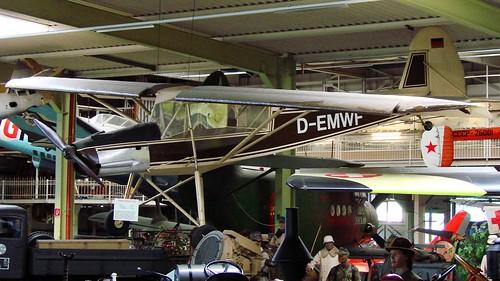 Morane-Saulnier MS-500 Criquet (Fieseler Fi-156 Storch) in Sinsheim
