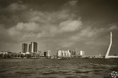 Vintage, not at all ! (PaaulDvD) Tags: rotterdam colors river maas netherlands boat water city urban