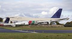 HZ-AIX Saudi Arabian Airways Boeing 747-400 @ Cotswold Airport, Kemble, Gloucestershire. (Cornish Aviation) Tags: hzaix saudi arabian airways boeing 747400 cotswold airport kemble gloucestershire avgeek planeporn airplane planes aircraft
