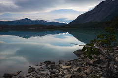 En El Estilo Bandito (courtney_meier) Tags: reflection reflections water lake lagonordenskjld torresdelpaine patagonianandes andes patagonia mountains mountain calm windless serene patagonianbeech nothofagus clouds lenticularclouds