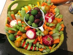 The Classic Relish Tray (jillyjally) Tags: relishtray carrot carrots celery radish olives