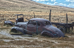 Bodie is littered with old cars, trucks, and wagons (Alaskan Dude) Tags: travel california bodie bodiestatehistoricalpark ghosttown bodiestatepark architecture landscape scenery outdoor