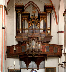 Organ of St. Jacobi, Lbeck, Germany (Philinflash) Tags: 2016 church churchinteriors europe germany organ orgel otherkeywords places lbeck
