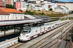 ALVIA 730 HÍBRIDO (Andreu Anguera) Tags: alvia serie730 híbrido tren04114 lugomadrid estacióndelugo andreuanguera