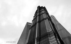 3 towers (erich torpedo) Tags: strategiesagainstarchitecture china dp1m exploring merill pudong shanghaiarchitecture sigma skyscraper