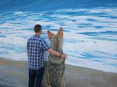 friends (kenjet) Tags: mural landscape ocean water friend friends pal pals relaxing dog doggie pup puppy furry me ken kenny kenjet