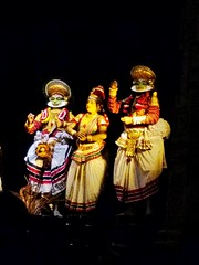 kerala (NaaZmin) Tags: kadakali kerala godsowncountry faceofindia incredibleindia indianculture southinddia travelkerala tourkerala trekkerala dance southindian festival celebration onam tadition malayalees mykerala myindia backwaters faceexpression