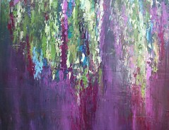 Vibrant Lilac (Angela Dierks Paintings) Tags: abstractart abstractpainting oilpainting affordableart floralart flower flowers