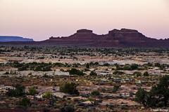 Dusk in the Desert (isaac.borrego) Tags: uploadedviaflickrqcom mesas desert rocks valley bicentennialhighway hite utah canonrebelt4i unitedstates america usa