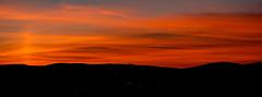 November Red sky (Keinsei2) Tags: beaujolais night nuit couch soleil sky ciel ain alpes sur saone villefranche jassansriottier sunset paysage paysages landscape mont france villefranchesursaone jassans weather fujifilm fuji xa1 extrieur crpuscule nuage cloud orange blue bleu rhne