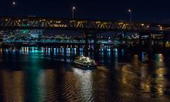 Night Cruise On The Willamette (John Behrends) Tags: oregon water willamette willametteriver portland pentaxk3 pentax pentaxk1 river