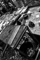 _DSC2778 (artlele) Tags: catania mercato market blackandwhite black white traditional sicilia sicily italia italy history streetphotografie street streetlife fishermen fish life true truelife work fishmarket reportage