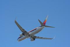 IMG_2639 (wmcgauran) Tags: kbos bos boston airport eastboston aviation airplane aircraft n917nn american americanairlines boeing 737 737800