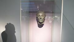 North African  (Art every day 8) (Charles Portis) Tags: europe uk britain england london museum muse head tte bronze libya libyan britishmuseum unitedkingdom greatbritain bronzehead